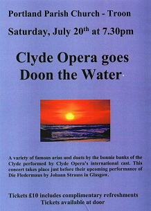Clyde Opera goes Doon the Water