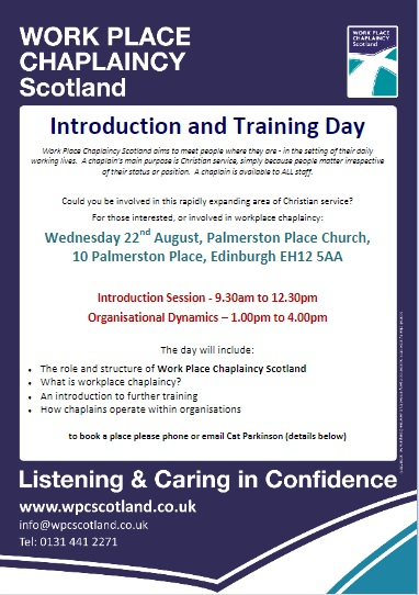Intro and Training Day Poster 220818