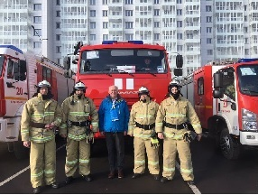 Siberian Firefighters